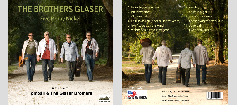 The Brothers Glaser A Tribute to Tompall & The Glaser Brothers album cover